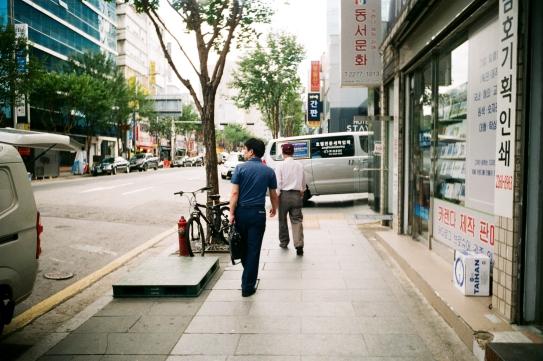 충무로. 서울. 2017. 09.