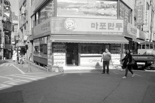 충무로. 서울. 2017. 10.