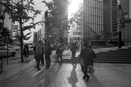 명동. 서울. 2017. 10.